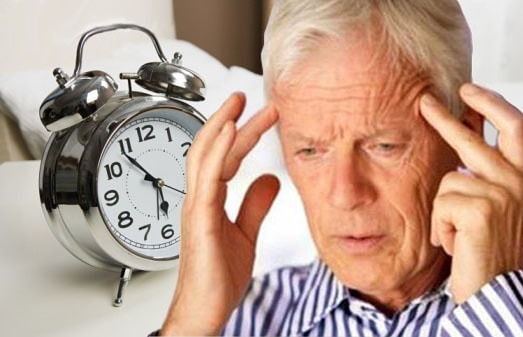 bệnh mất ngủ ở người già