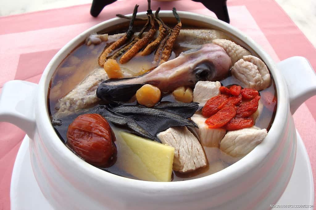 Món Ăn với Đông Trùng Hạ Thảo